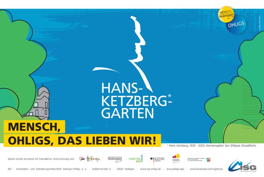 'Blauer Emil' im neuen Hans-Ketzberg-Garten