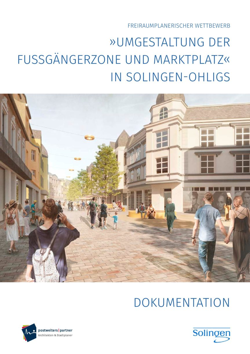 Dokumentation zum Wettbewerb zur Umgestaltung der Düsseldorfer Straße ist online