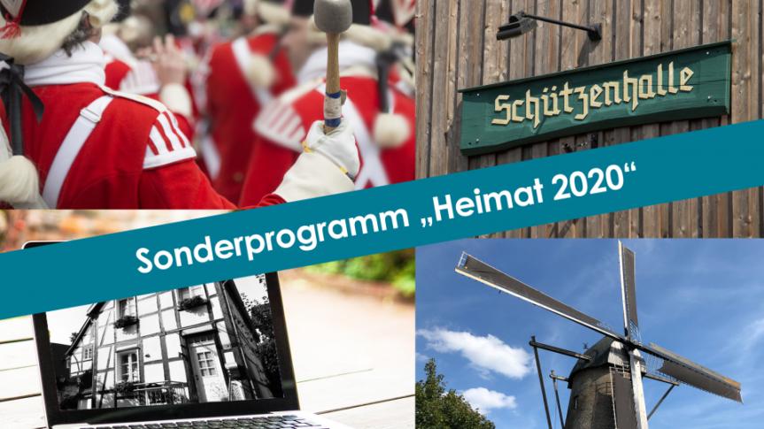 Finanzielle Hilfen für Vereine – Sonderprogramm Heimat 2020