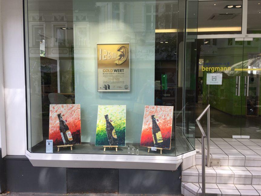 5 Wochen SchauFensterKunst in der Ohligser Fußgängerzone